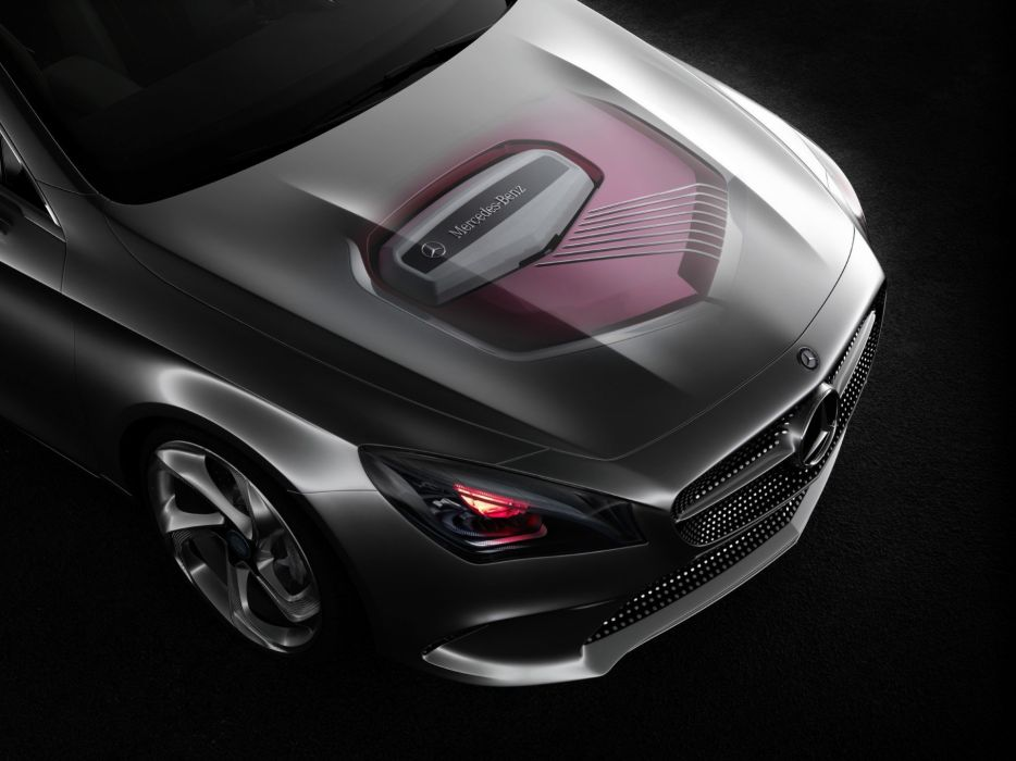 cars studio engines supercars concept cars Mercedes-Benz Style Coupe wallpaper