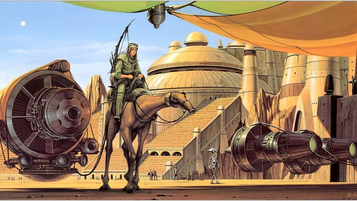 STAR WARS PHANTOM MENACE sci-fi futuristic action adventure (13) wallpaper