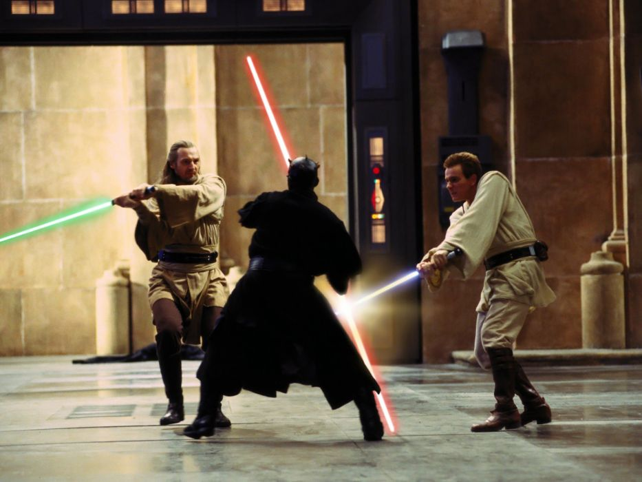 STAR WARS PHANTOM MENACE sci-fi futuristic action adventure (17) wallpaper