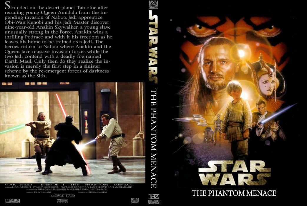 STAR WARS PHANTOM MENACE sci-fi futuristic action adventure (18) wallpaper