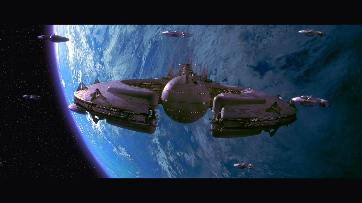 STAR WARS PHANTOM MENACE sci-fi futuristic action adventure (35) wallpaper