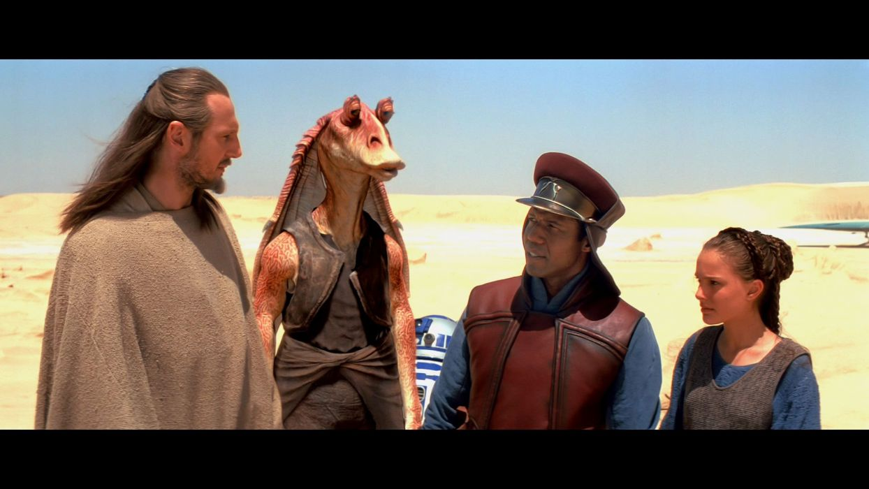 STAR WARS PHANTOM MENACE sci-fi futuristic action adventure (37) wallpaper