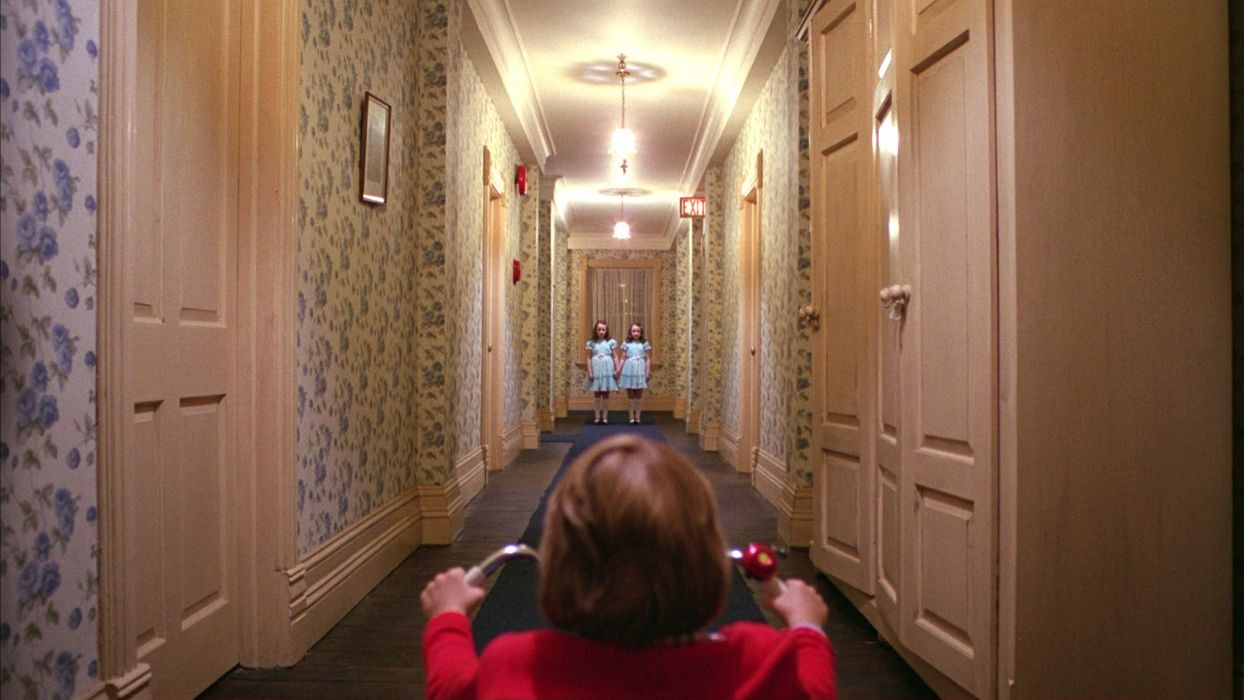 THE SHINING horror thriller dark movie film classic wallpaper