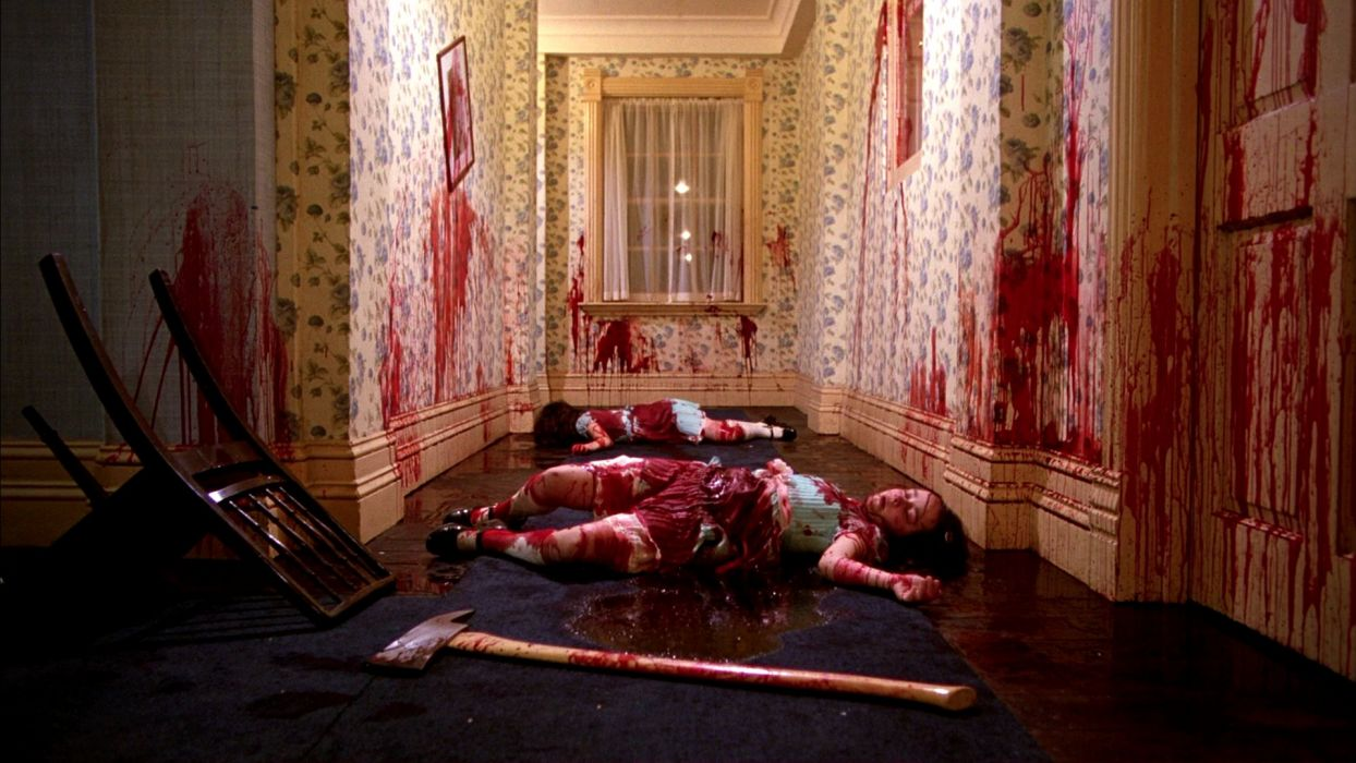 The Shining Horror Thriller Dark Movie Film Classic Blood