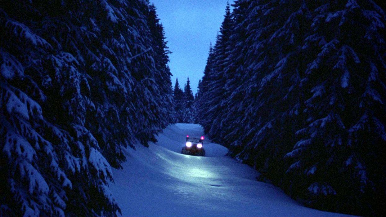 THE SHINING horror thriller dark movie film winter snow wallpaper