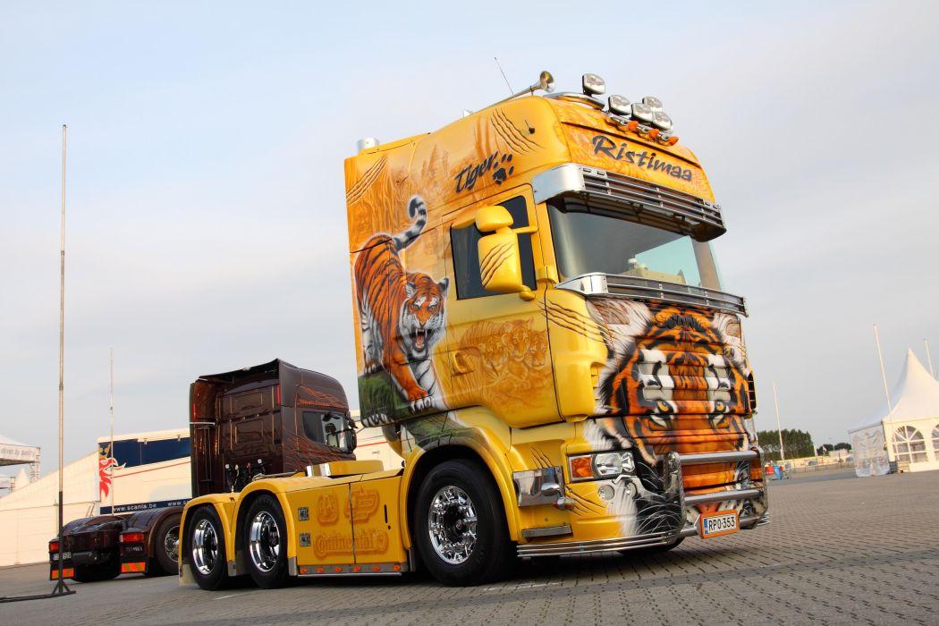 Scania R 500 Topline wallpaper