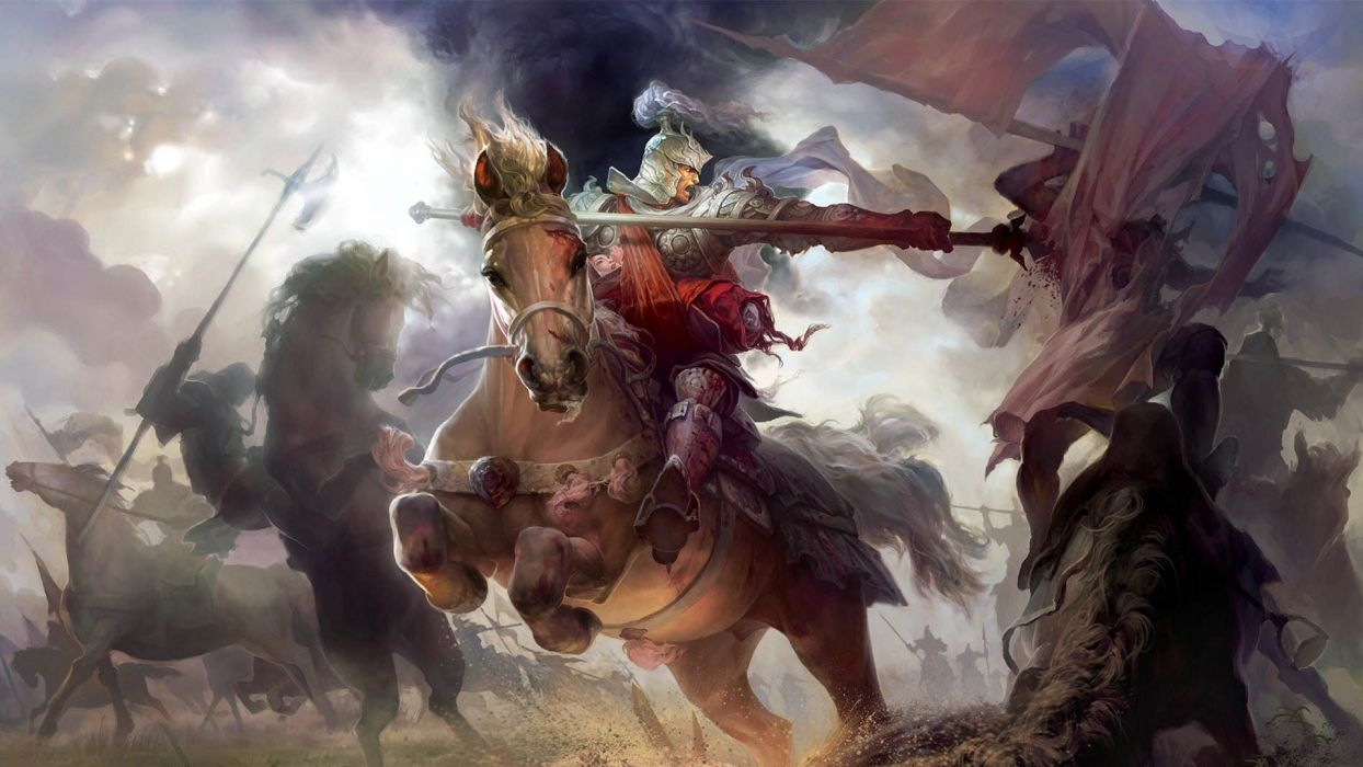 video games fantasy art Heroes of Might and Magic wallpaper