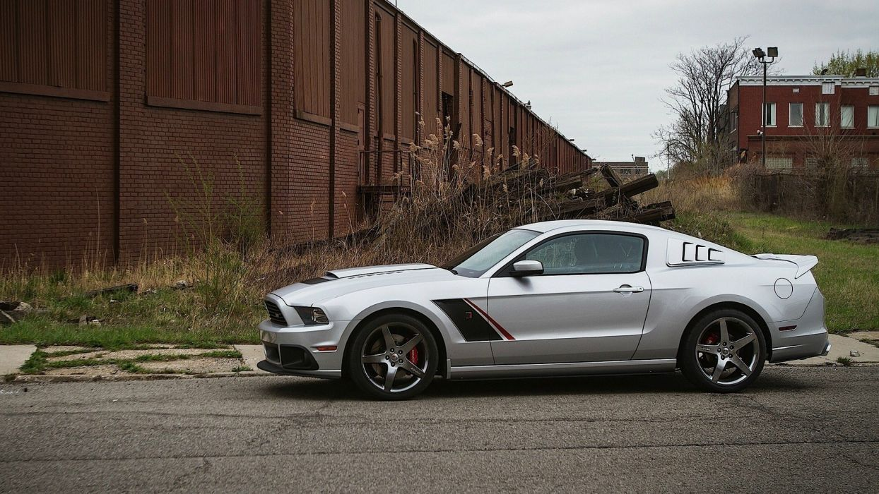 cars vehicles Ford Mustang stage wallpaper