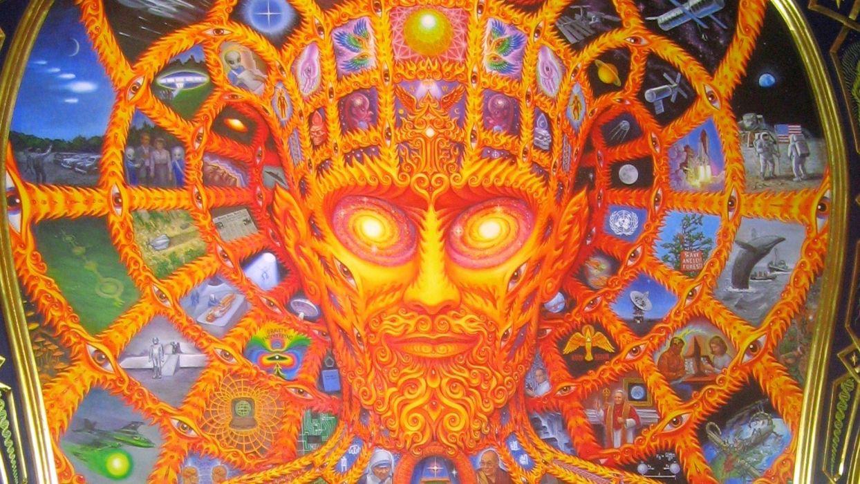 psychedelic alex grey wallpaper