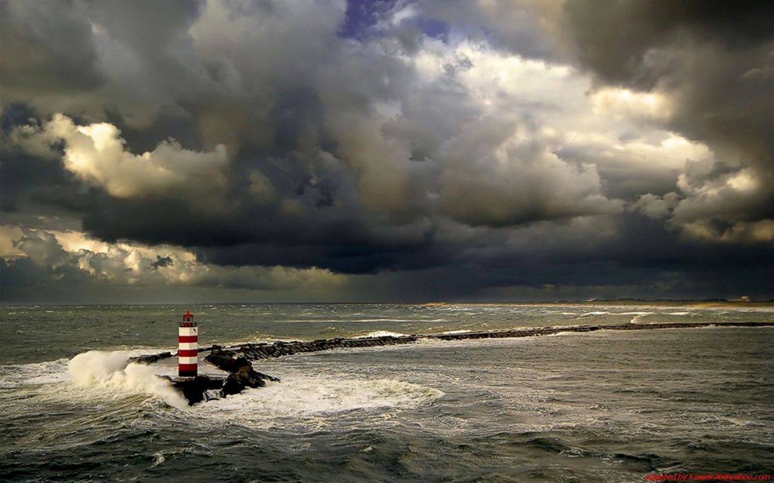 landscapes nature lighthouses wallpaper