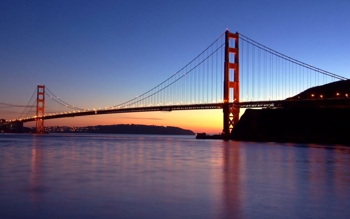 Landscapes Bridges Usa Golden Gate Bridge San Francisco Wallpaper 1920x1200 253596 Wallpaperup