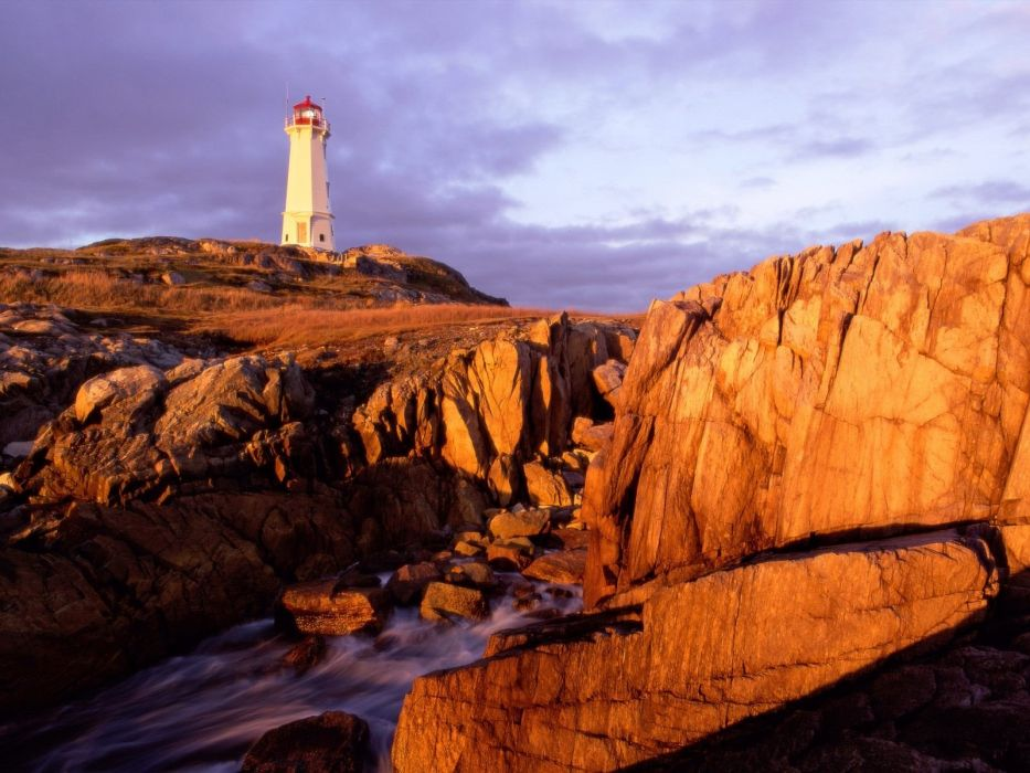 Canada nova Peggy cove wallpaper