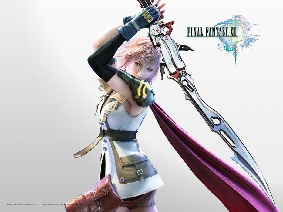Final Fantasy XIII Claire Farron wallpaper