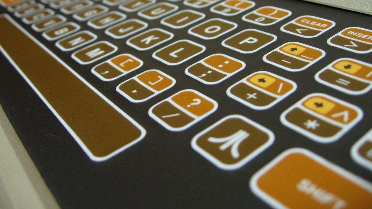 computers keyboards Atari computers history wallpaper