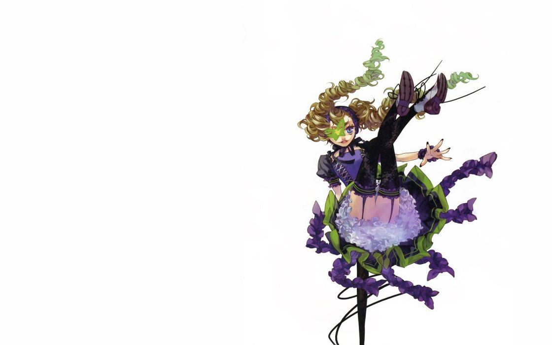 legs flowers anime girls Kazuaki wallpaper