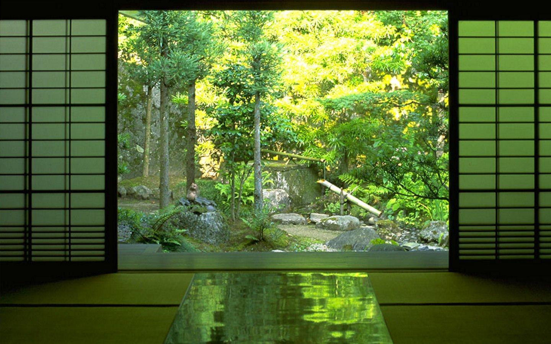 Japan nature indoors zen wallpaper 1440x900 253777 - Japanese zen garden indoor ...
