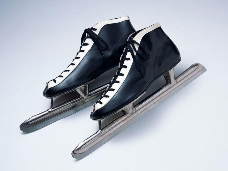 sports ice skates wallpaper