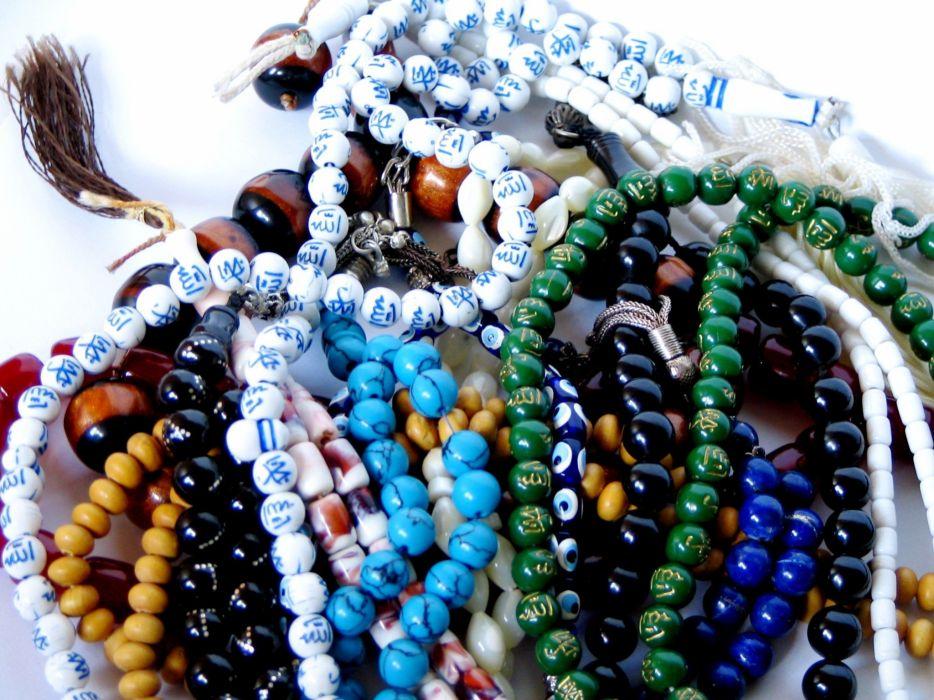 beads letters Arabic sb7a wallpaper