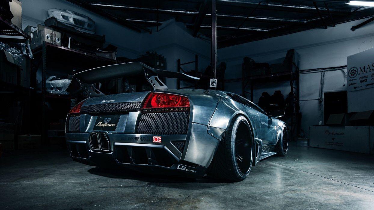cars performance Lamborghini Murcielago wallpaper