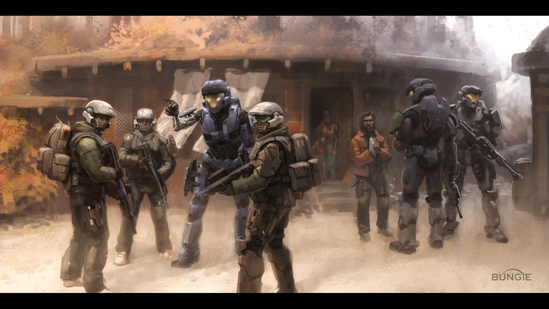 Halo Reach Ipad Wallpaper Spartan Halo Kat Halo Reach