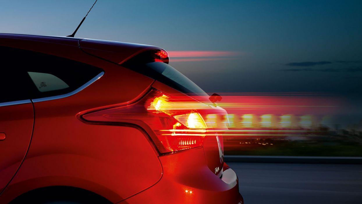 Ford Ford Focus taillights wallpaper