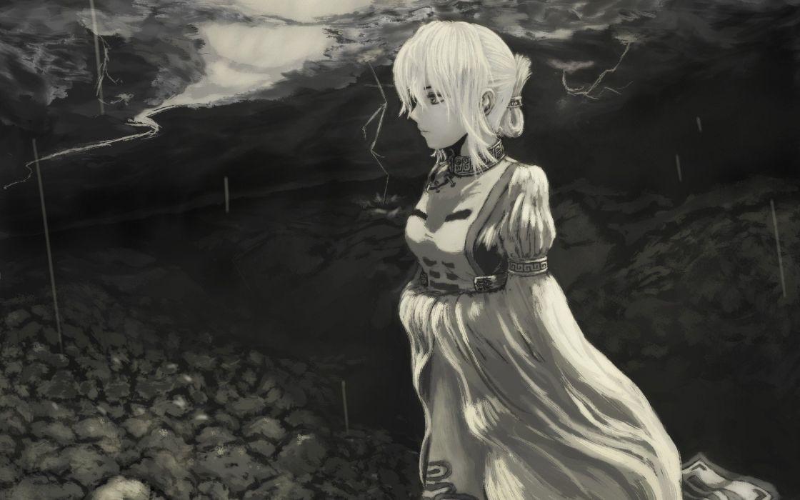 video games Touhou Yakumo Yukari anime girls wallpaper