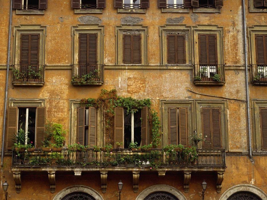 buildings Rome Italy wallpaper