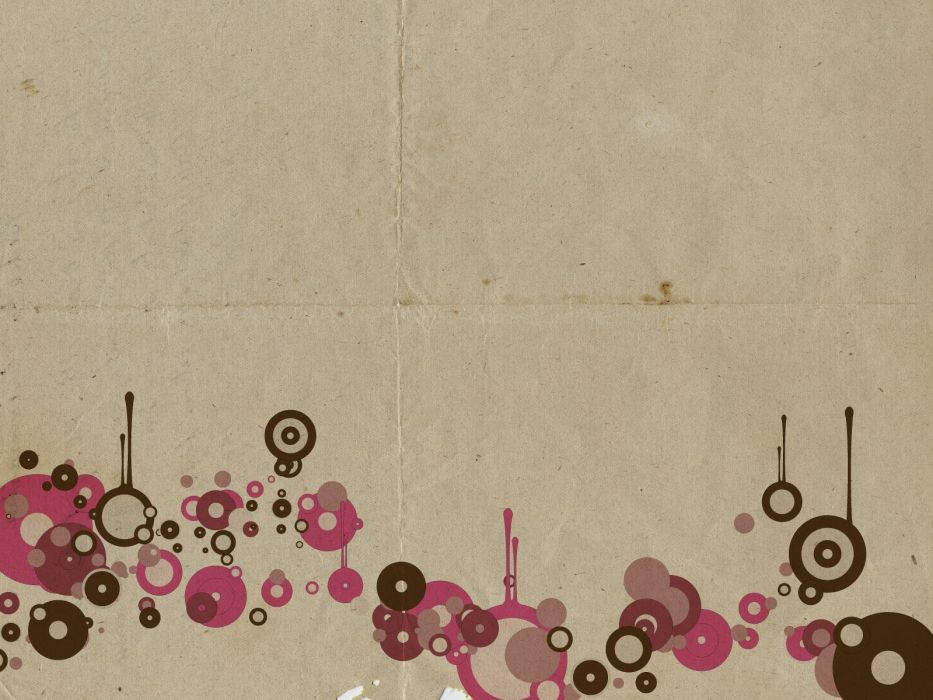 paper vintage vectors circles surface wallpaper