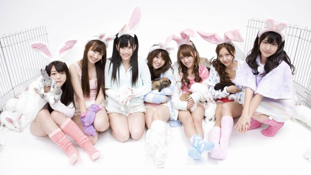 women Japan music Japanese Asians Atsuko Maeda AKB48 jpop wallpaper