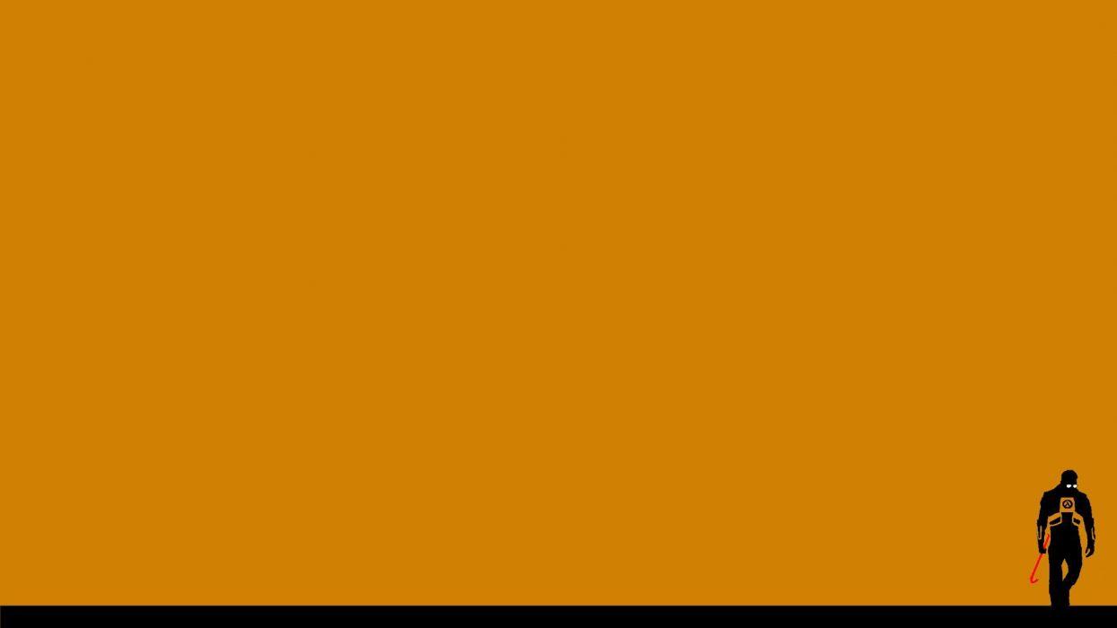 minimalistic Half-Life wallpaper