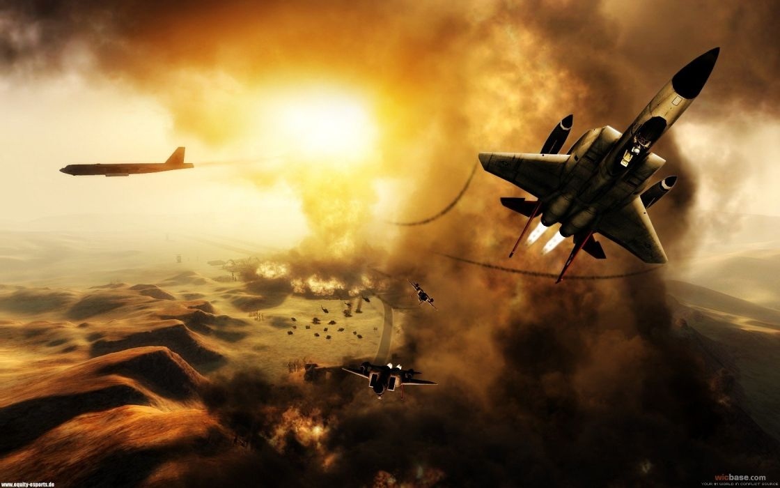 aircraft World in Conflict wallpaper