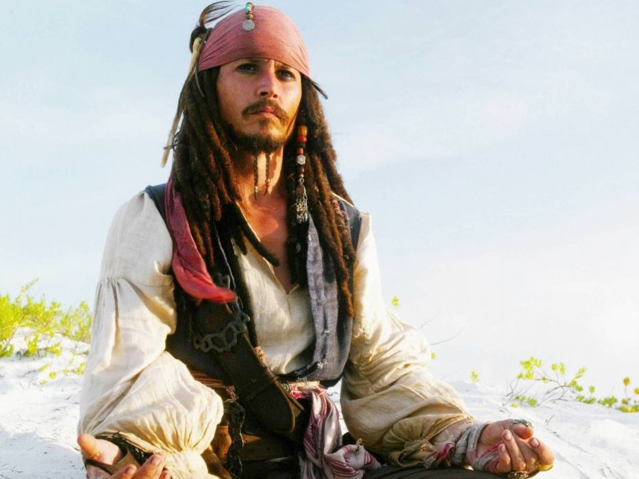 Movies Pirates Of The Caribbean Johnny Depp Captain Jack