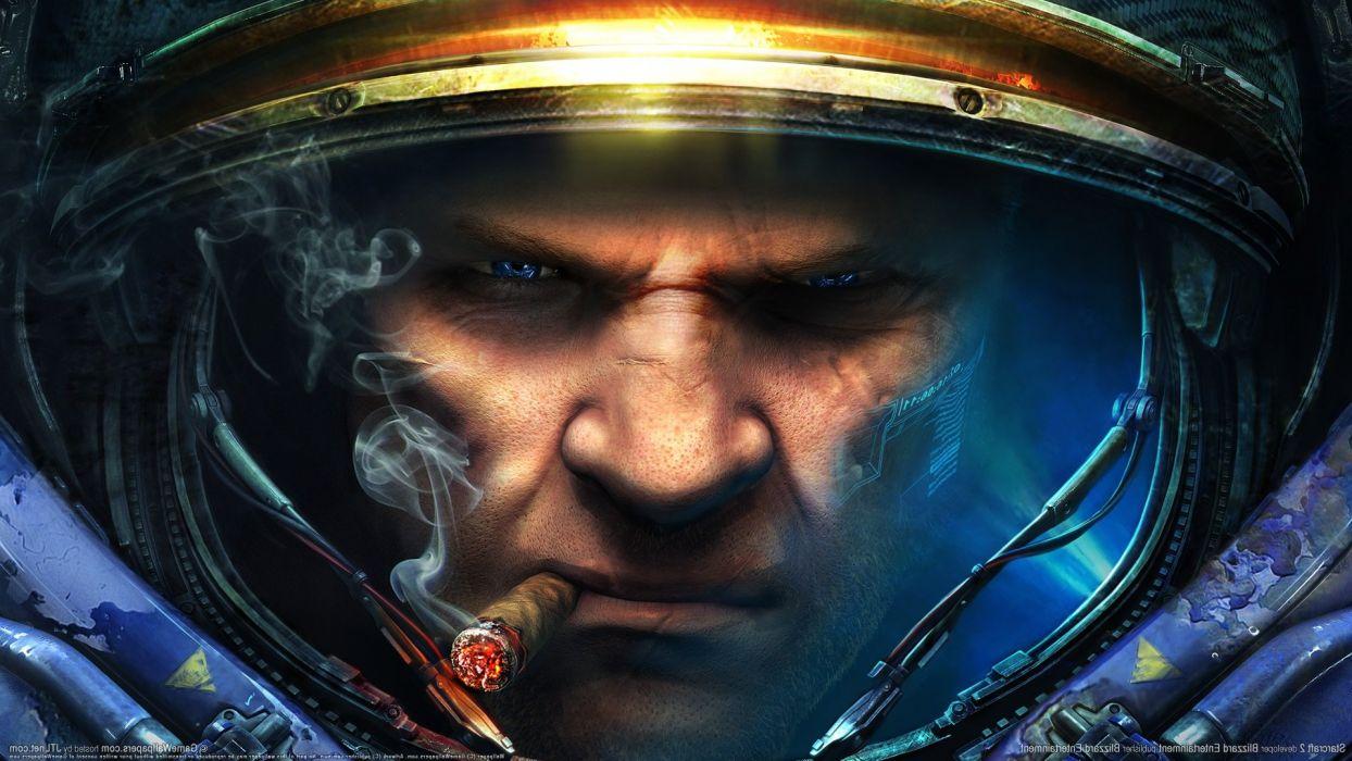 Blizzard Entertainment StarCraft II Tychus Findlay wallpaper
