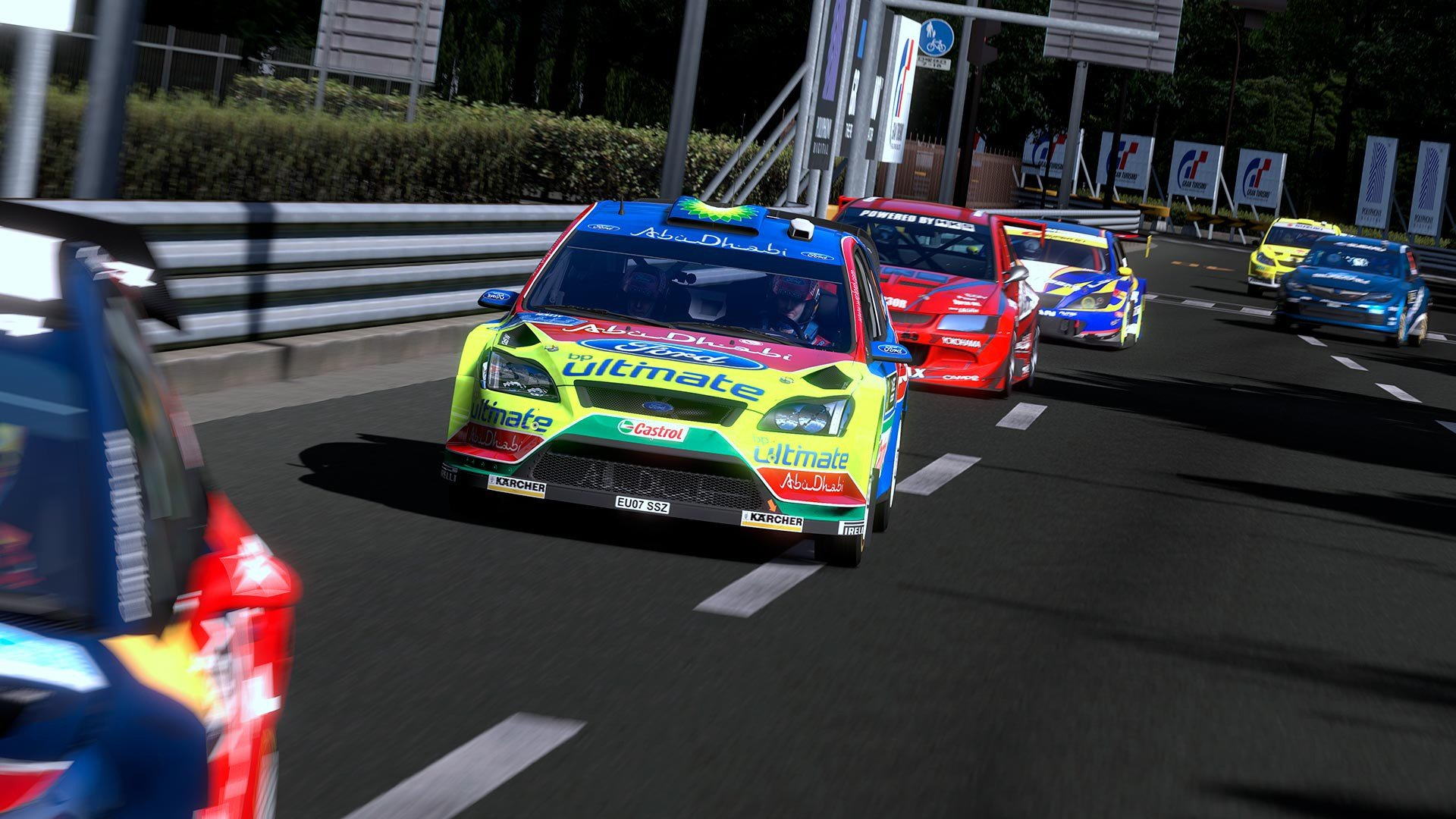 Video games cars Subaru Impreza WRC Mitsubishi Lancer Gran Turismo ...