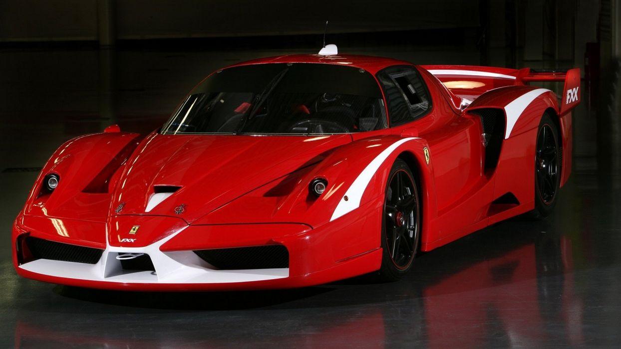 cars Ferrari Ferrari FXX wallpaper