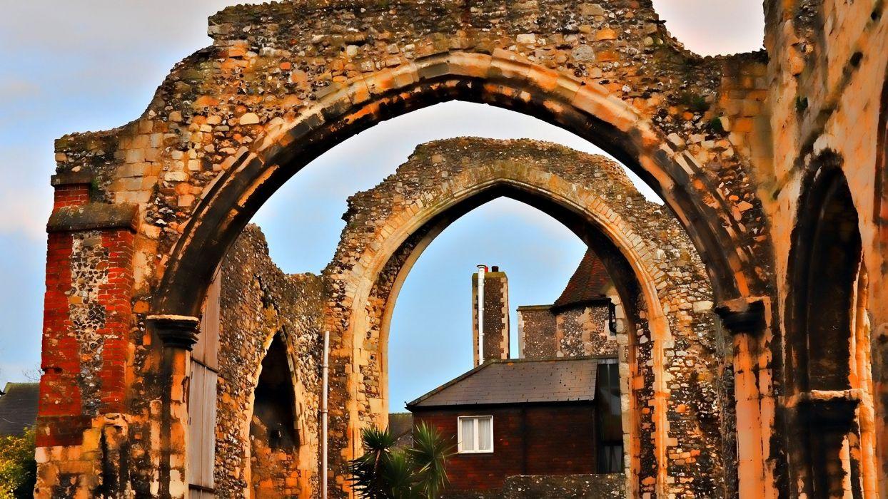 ruins culture wallpaper
