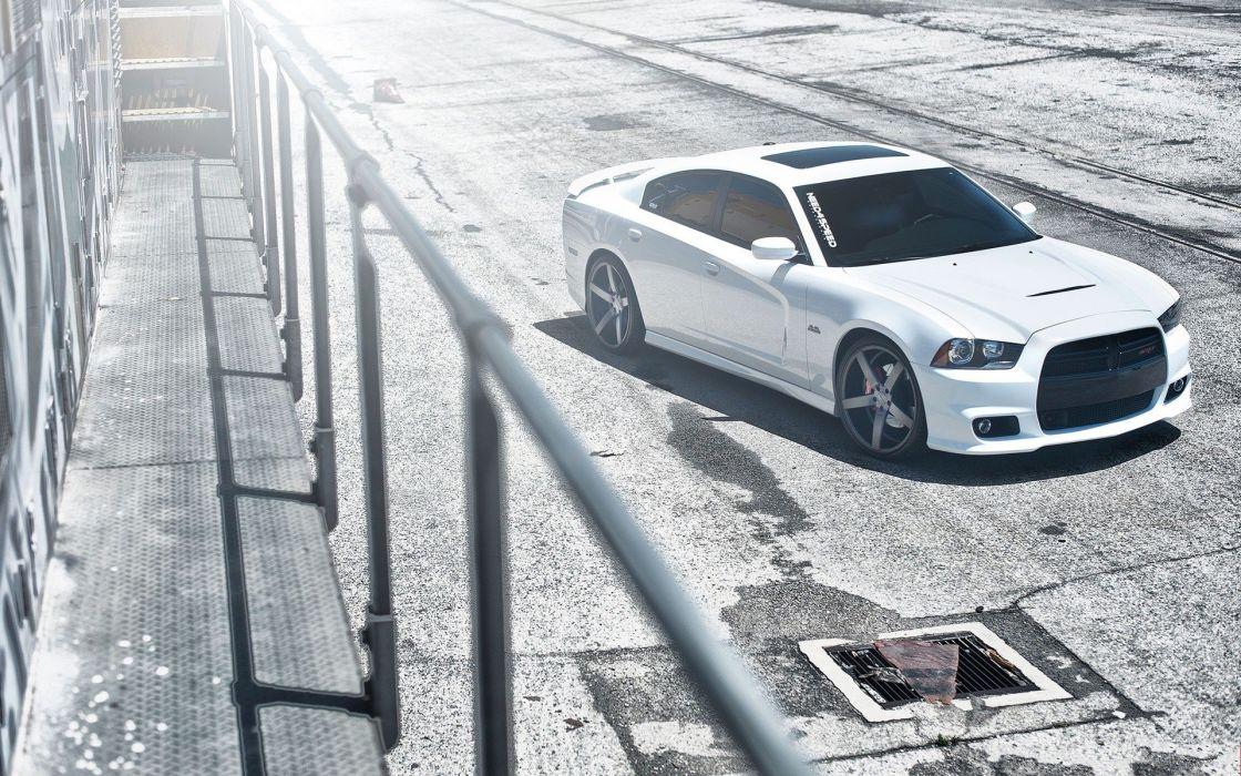 cars Dodge Charger SRT8 wallpaper