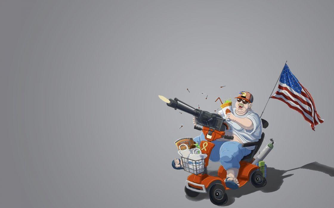 guns USA Walmart wallpaper