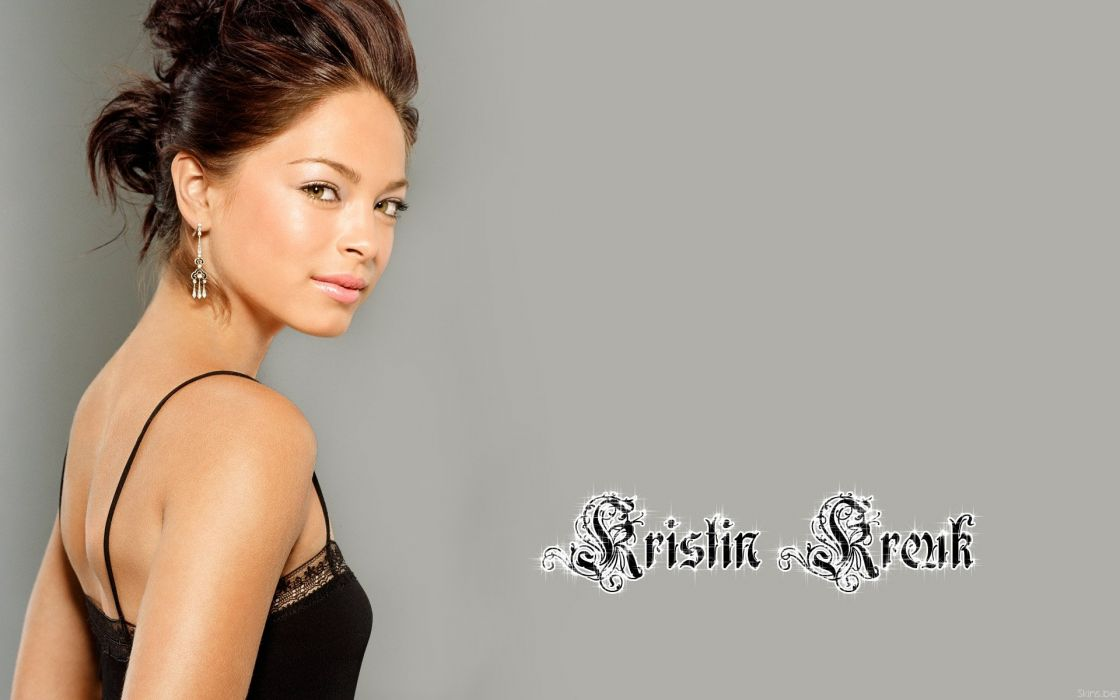 brunettes women actress Kristin Kreuk wallpaper