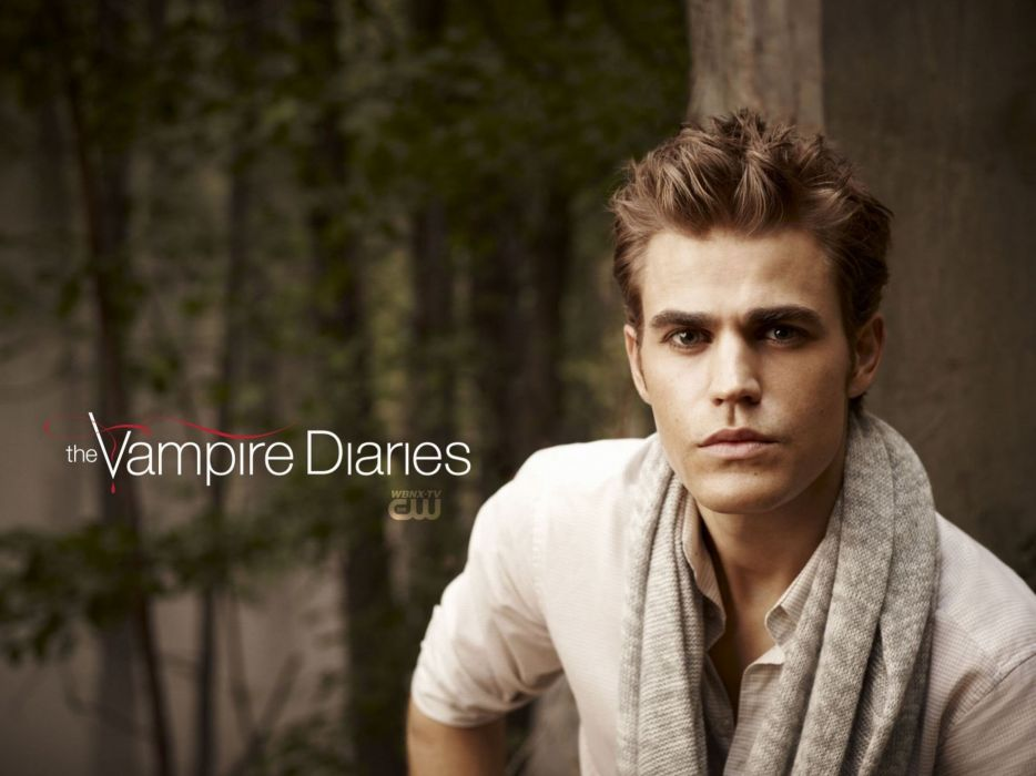 The Vampire Diaries Paul Wesley wallpaper