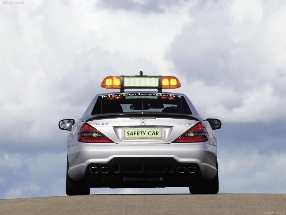 cars safety cars Mercedes-Benz Mercedes Benz SL63 AMG wallpaper