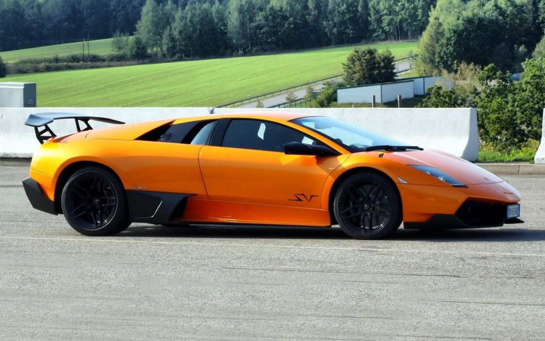 cars Lamborghini MurciAIA wallpaper