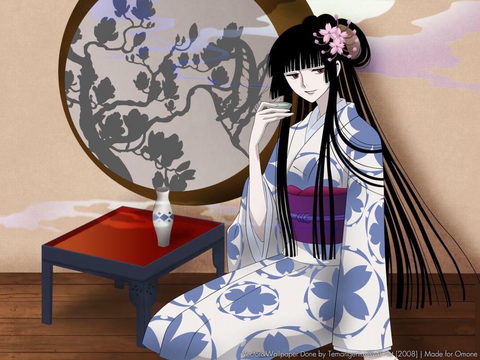 xxxHolic Japanese clothes Ichihara Yuuko wallpaper