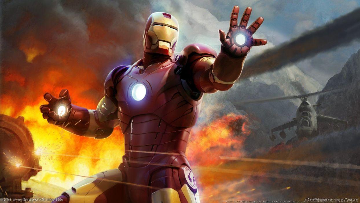 video games Iron Man wallpaper