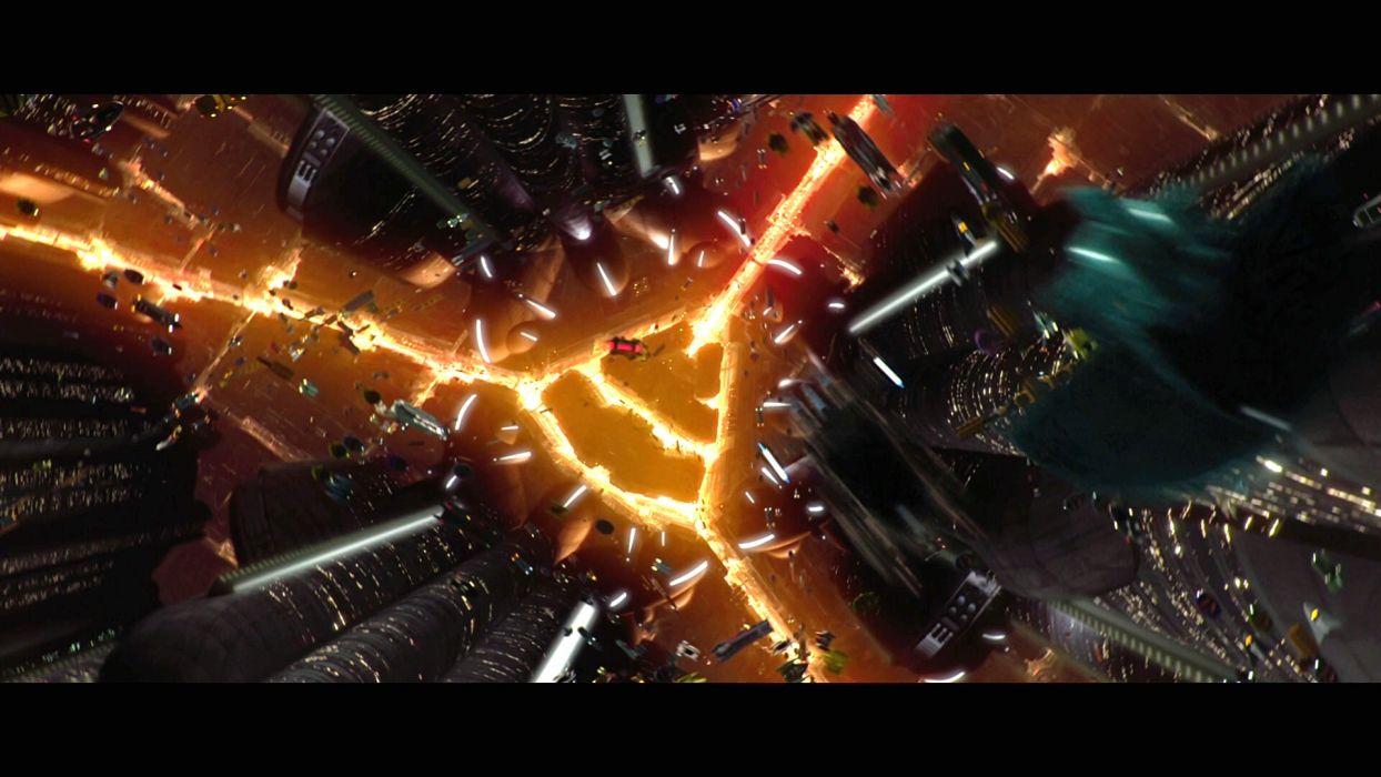 Star Wars Attack Clones Sci Fi Action Futuristic Movie Film