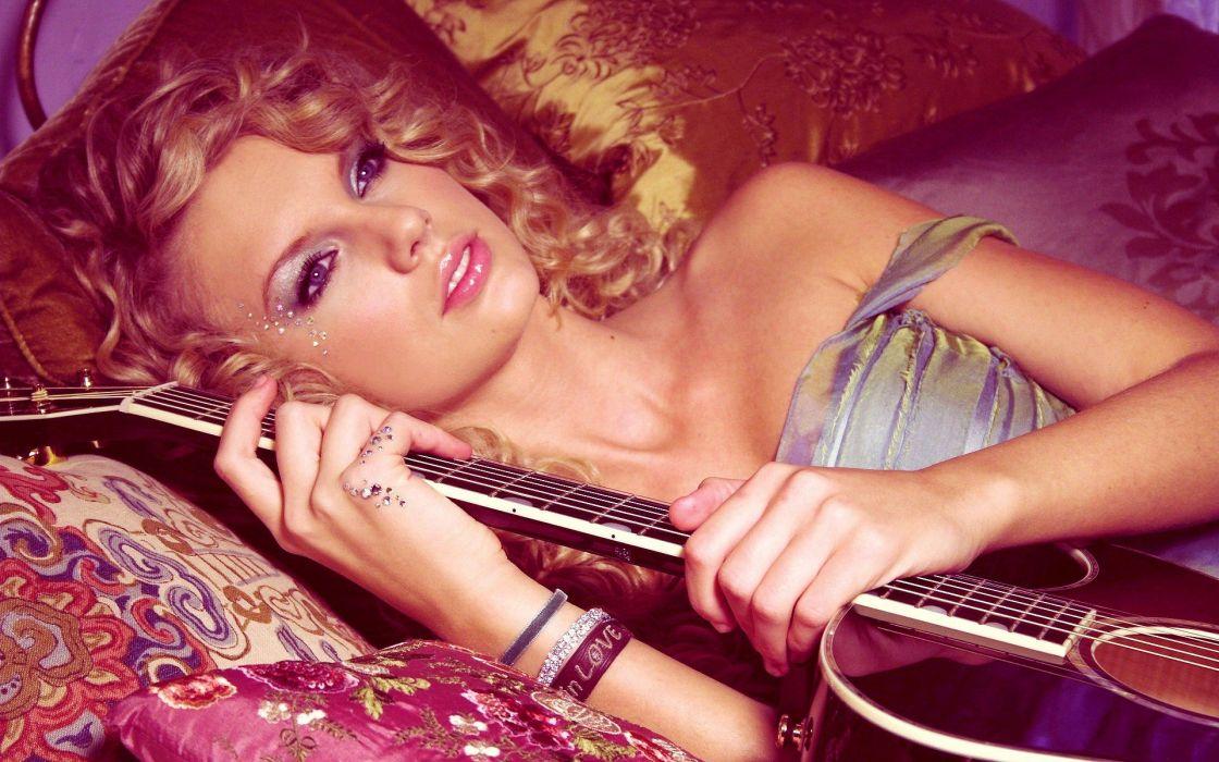 women Taylor Swift models singers wallpaper