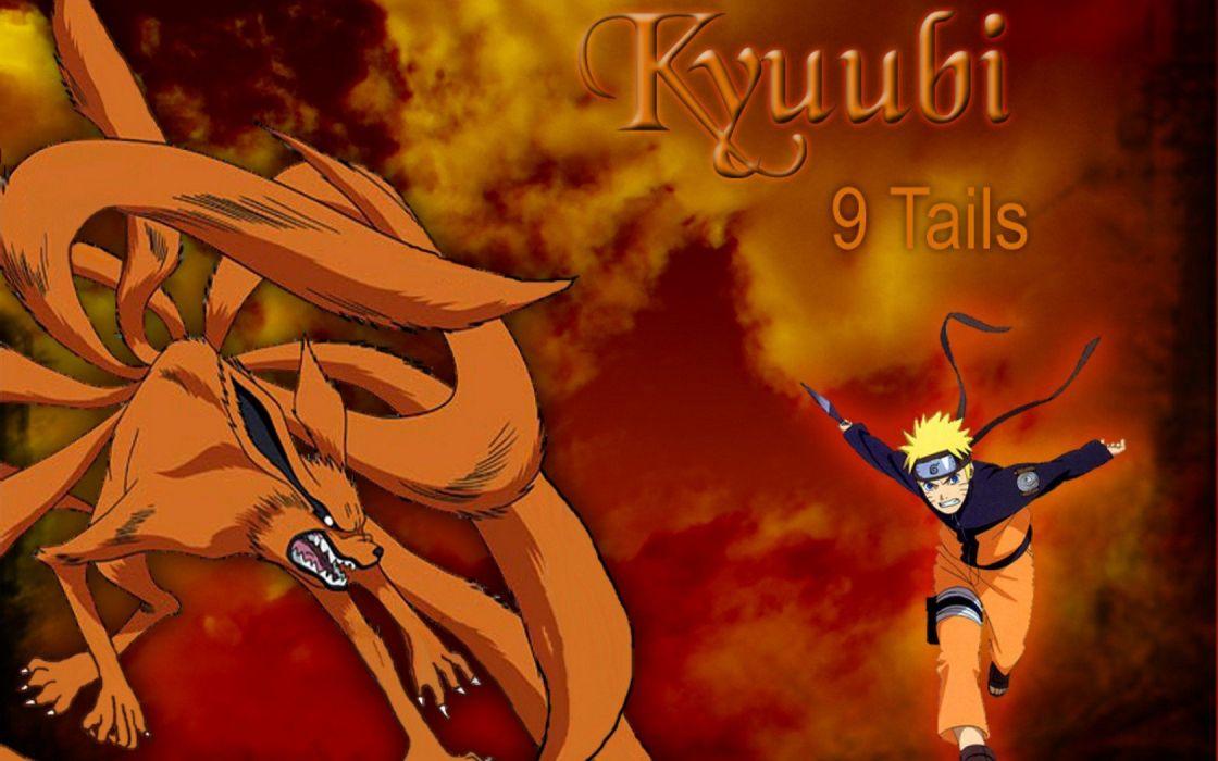 Naruto: Shippuden Kyuubi Uzumaki Naruto Jinchuuriki Bijuu wallpaper