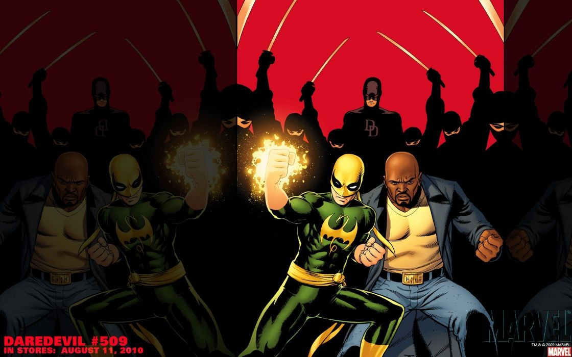 Iron Fist Marvel Comics wallpaper