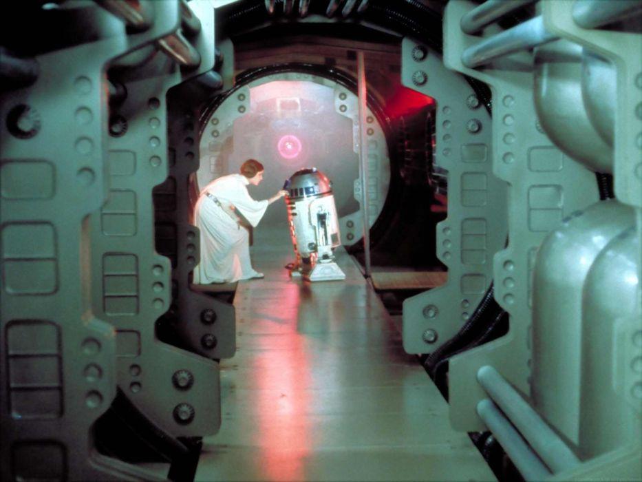 Star Wars Movies R2d2 Leia Organa Wallpaper 1600x1200 254641 Wallpaperup