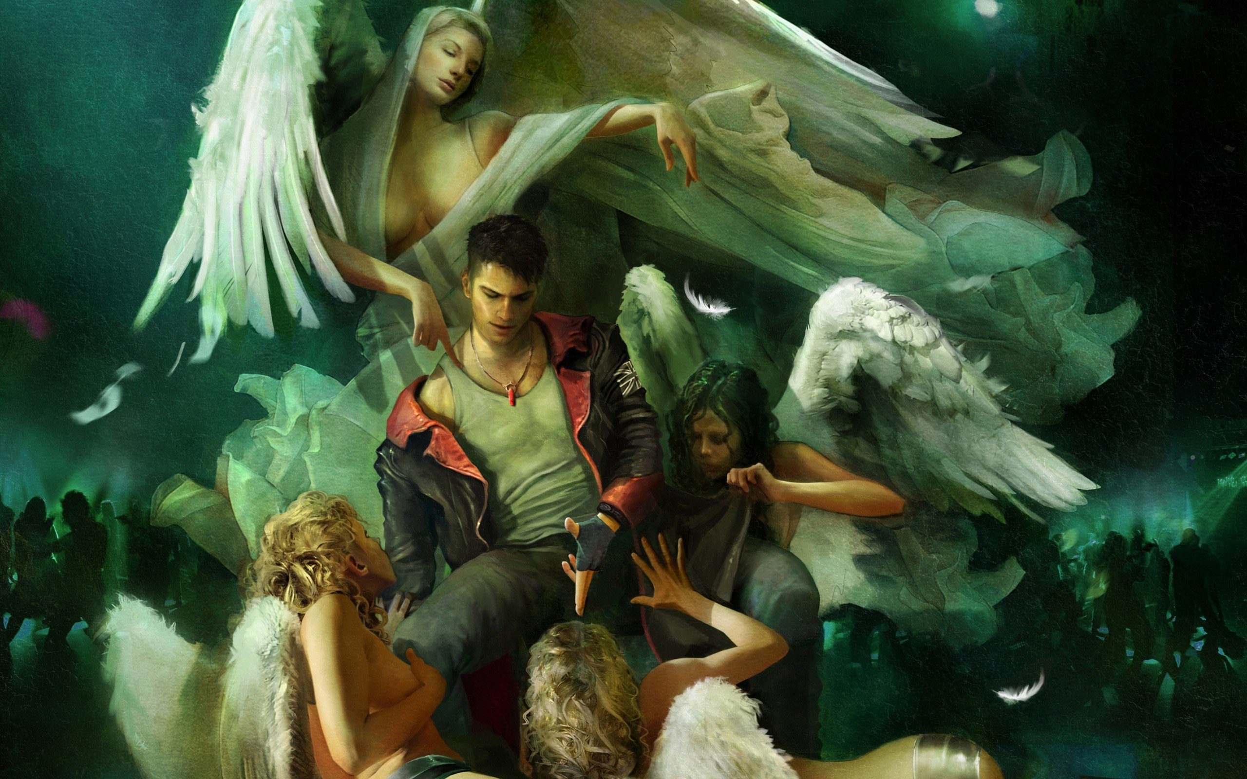 Angels Devil May Cry Vergil Dmc Wallpaper 2560x1600 254647
